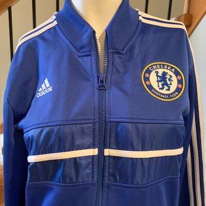 Adidas Chelsea Football Club Jacket Blue Size S